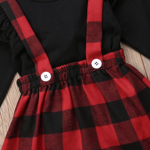 The Buffalo Plaid Skirt Outfit