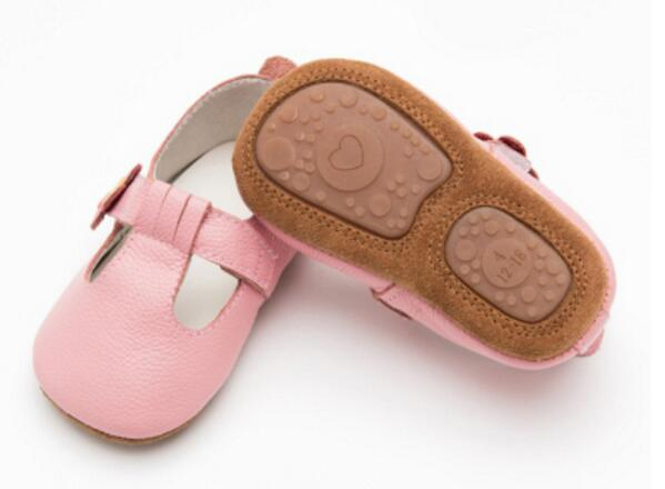 The Leather Baby Loafers