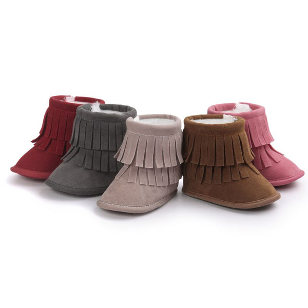 The Fringe Booties