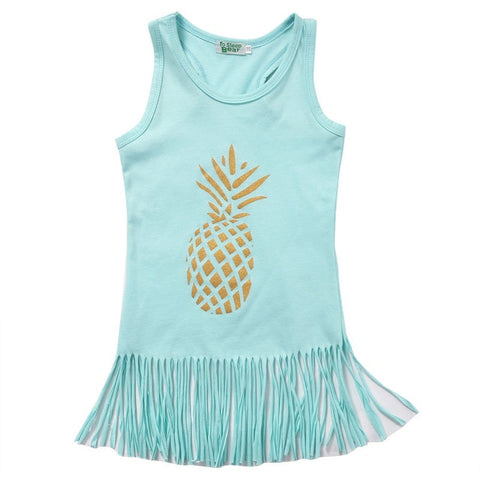 The Beachy Pineapple Dress
