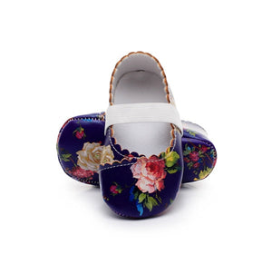 The Floral Ballet Shoes
