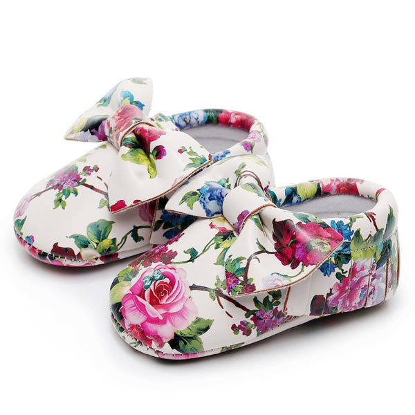 The Floral Moccasins