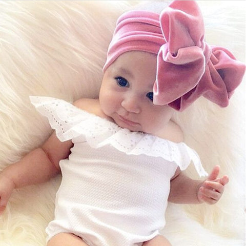 The Velvet Bow Headband