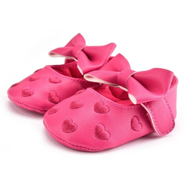The Classic Heart Moccasins