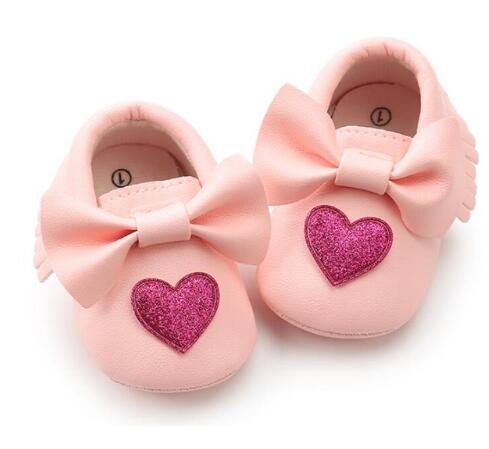 The Lovely Pink Moccasins