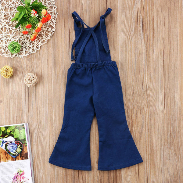 The Bell Bottom Overalls