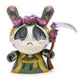 "Santa Muerte 8"" Dunny by Stephanie Buscema - DCON Exclusive Prosperity (Green) Edition"