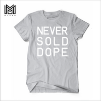 Never Sold Dope Heather Grey Men's T-Shirt