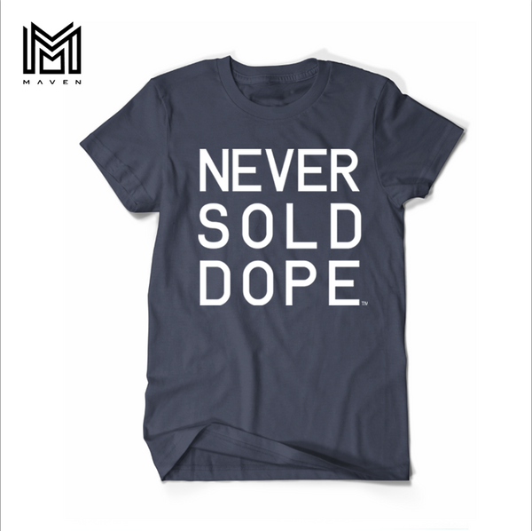 Never Sold Dope Navy Men's T-Shirt
