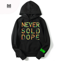 Never Sold Dope Black History Month Pullover Hoodie