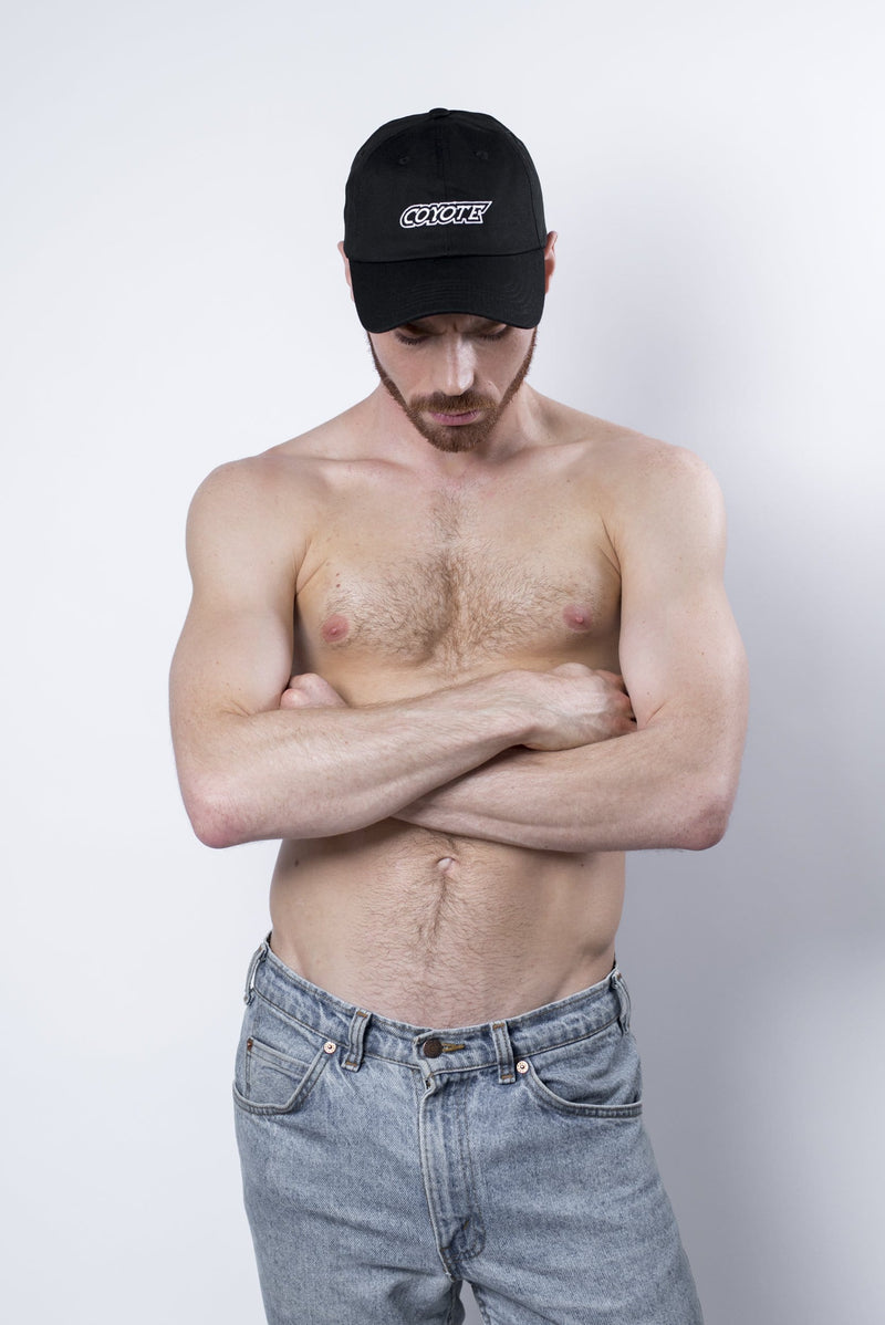 sexy-jockstrap-gay-underwear-mens-jock-Coyote Dad Hat - Coyote Jocks Inc.