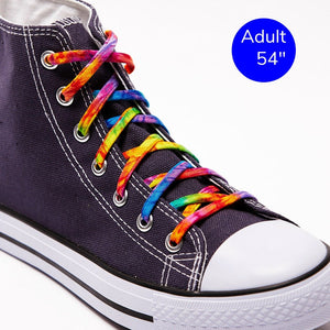 "54"" shoelaces tie dye"