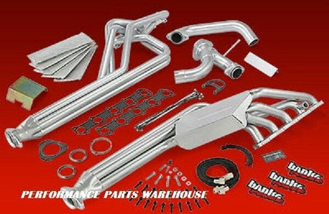 BANKS HEADERS E-450 CLASS C MOTORHOME RV 1997-03 FORD V-10 w/ EGR