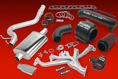 BANKS POWERPACK SYSTEM w/ AUTOMIND 04-06 WRANGLER UNLIMITED / BLACK EXHAUST TIP