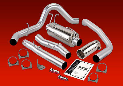 "BANKS MONSTER 4"" EXHAUST 2000-03 FORD EXCURSION 7.3L"