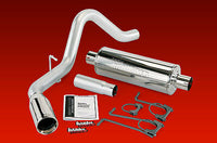 BANKS MONSTER EXHAUST 2007-10 FORD F250 ALL WHEELBASE, 2011 CC/SB ONLY - V10 GAS