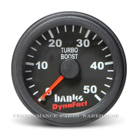 BANKS BOOST GAUGE Fits 93-02 CUMMINS MOTORHOME RV 5.9L/8.3L 0-50 PSI