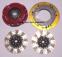 McLEOD RXT 1200-HP TWIN DISC CLUTCH 55-92 CHEVY SBC BBC 26-SPLINE 168T