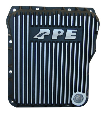 PPE LOW-PROFILE TRANSMISSION PAN 01-16 DURAMAX 1000-2400 ALLISON - BRUSHED
