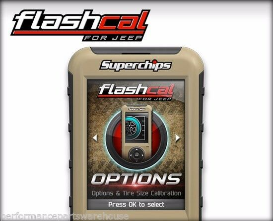 SUPERCHIPS F5 FLASHCAL 2007-18 JEEP WRANGLER JK