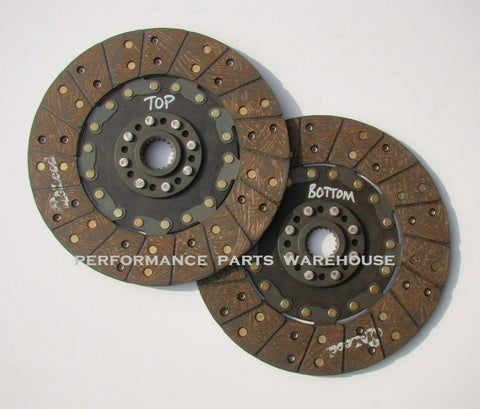 REPLACEMENT DISC SET ONLY For McLEOD RST TWIN CLUTCH - 26-SPLINE