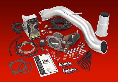 BANKS EXHAUST BRAKE Fits 03-04 DODGE 5.9L CUMMINS MANUAL STOCK EXHAUST