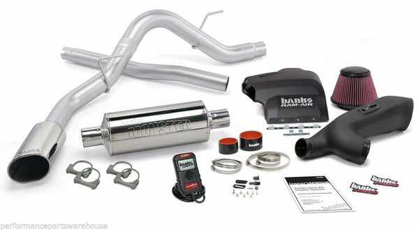 BANKS STINGER SYSTEM 2011-14 FORD F150 ECO-BOOST, CHROME TIP +72HP