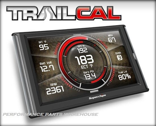 SUPERCHIPS TRAILCAL GAUGE MONITOR 2018 JEEP WRANGLER JL