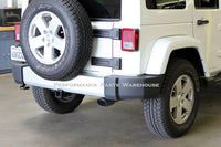BANKS MONSTER EXHAUST 2012-18 JEEP WRANGLER 2-DOOR 3.6L - CHROME TIP