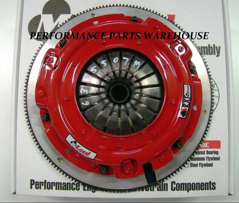 McLEOD RST TWIN DISC CLUTCH 800-HP 2010-15 CAMARO 6-SPEED ALUMINUM FLYWHEEL