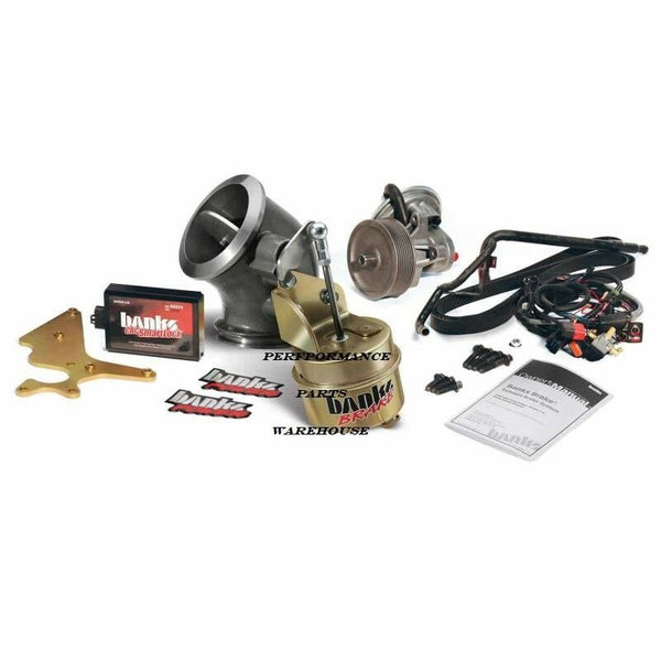 "BANKS EXHAUST BRAKE Fits 03-04 DODGE 5.9L CUMMINS MANUAL 4"" EXHAUST w/ CAT"