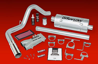 BANKS STINGER SYSTEM 89-93 F250 F350 7.5L EXT/CREW CAB - CHROME TIP