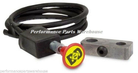 "BD DIESEL EXHAUST BRAKE MANUAL SHIFTER PUSH PULL SWITCH 3/4"" - DODGE FORD CHEVY"