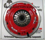 McLEOD RXT 1000-HP TWIN DISC CLUTCH & ALUMINUM FLYWHEEL 1997-15 GM LS ENGINE