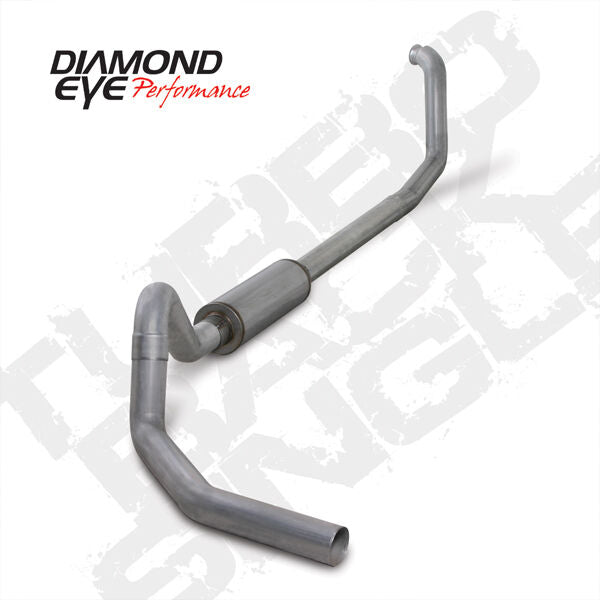 DIAMOND EYE TURBO BACK EXHAUST 98-03 FORD ECONOLINE 7.3