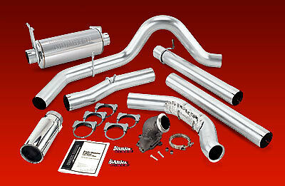 BANKS MONSTER EXHAUST 01-03 F250 F350 w/ CATALYTIC 7.3L
