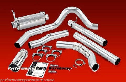 BANKS MONSTER EXHAUST 99.5-03 FORD F250 F350 TURBO BACK
