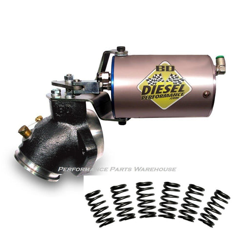 BD DIESEL TURBO MOUNT EXHAUST BRAKE Fits 89-98 DODGE 5.9L CUMMINS MANUAL