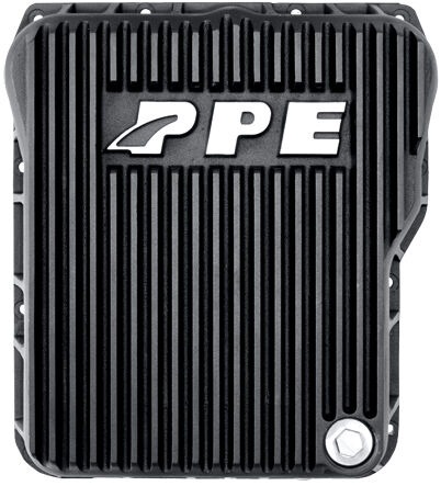 PPE DEEP TRANSMISSION PAN 01-16 DURAMAX ALLISON 1000/2000/2400 - BLACK ALUMINUM