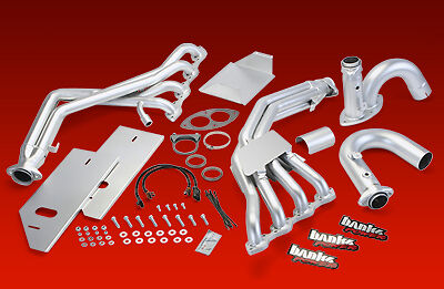 BANKS EXHAUST HEADERS CLASS A MOTORHOME RV 96-00 CHEVY GMC 7.4L
