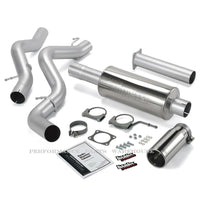 BANKS MONSTER EXHAUST 06-Early'07 CHEVY 6.6L DURAMAX LLY/LBZ, STD CAB, LONG BED