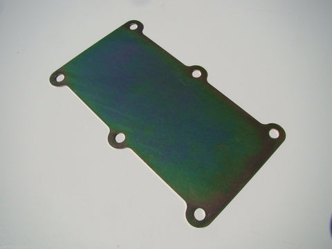 BLOCK-OFF PLATE ONLY - AFTERMARKET T56 MAGNUM; For Front Case Mounted Shifter
