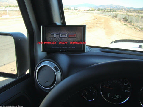 SUPERCHIPS TRAILDASH TD2 w/ PILLAR MOUNT 07-10 JEEP WRANGLER JK