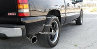 BANKS MONSTER SINGLE EXHAUST 07-08 CHEVY AVALANCHE 5.3 6.0 V8 - BLACK TIP