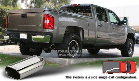 BANKS MONSTER EXHAUST 07.5-10 CHEVY GMC DURAMAX 6.6L LMM - CHROME TIP
