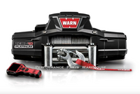 WARN ZEON 10 PLATINUM ULTIMATE PERFORMANCE WINCH - STEEL CABLE, 10000 LB 10k