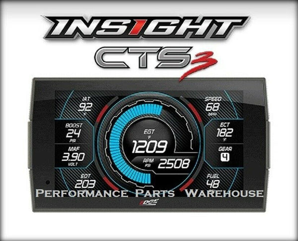 EDGE INSIGHT CTS3 DIGITAL GAUGE DISPLAY MONITOR 1996-CURRENT IMPORT VEHICLES