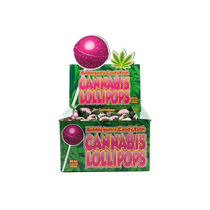 Bubblegum Cannabis Lollipop