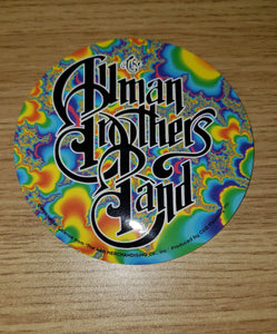 Allman Brothers Psychedelic Sticker