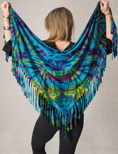 Load image into Gallery viewer, Mudmee tie dye shawl